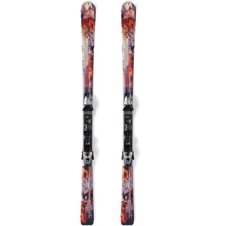Nordica Hot Rod Flare Ski System with Bindings -