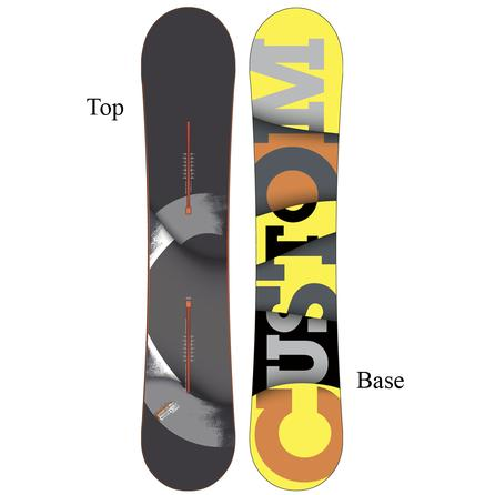 Burton Custom Flying V-Rocker Wide Snowboard (Men's) -
