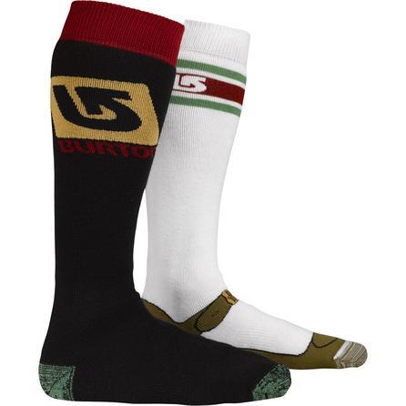 Burton Weekender 2-Pack Snowboard Socks (Men's) -