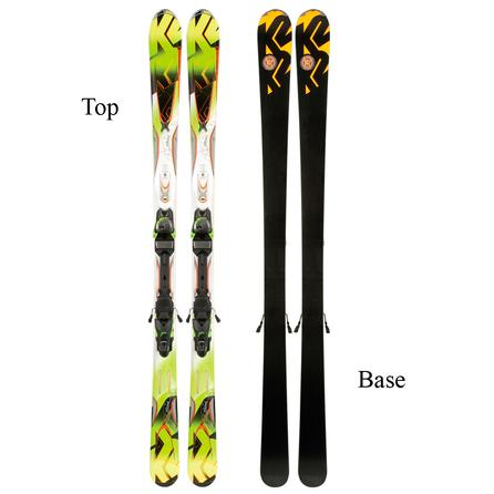 K2 Amp Rictor Ski System with Bindings (Men's) -