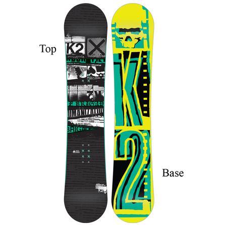 K2 Brigade Black Wide Snowboard (Men's) -
