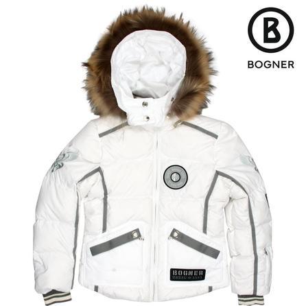 Bogner Effi-D Down Ski Jacket with Fur (Girls') -