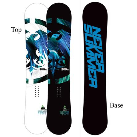 Never Summer Legacy Mid-Wide Snowboard (Men's) -