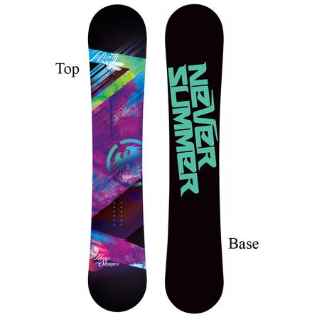 Never Summer Infinity Snowboard (Women's) -