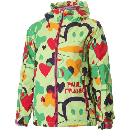 686 Paul Frank Magic Insulated Snowboard Jacket (Girls') -
