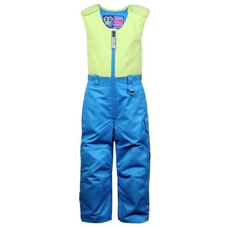 Snow Dragons Bailey Ski Bib (Toddler Girls') - French Blue/Green Spring