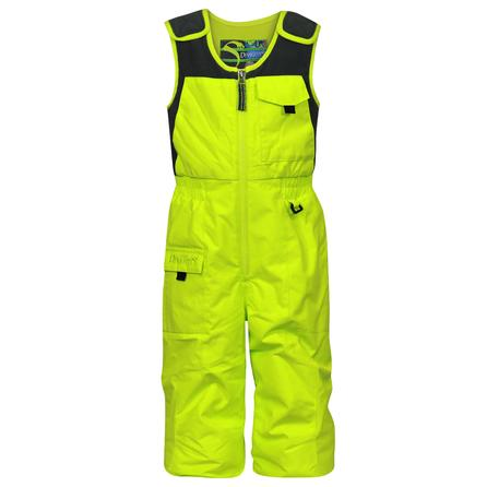 Snow Dragons Nestor Ski Bib (Toddler Boys') - Lime Blast