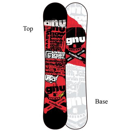 Gnu Carbon Credit BTX Wide Snowboard (Men's) -