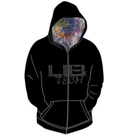 Lib Tech Logo Zip Hoodie (Men's) -