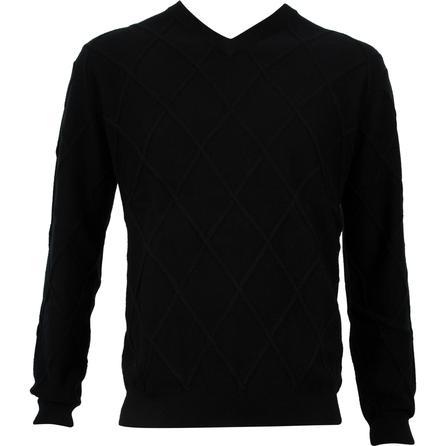 Bugatchi V Neck Cashmere Sweater (Men's) -