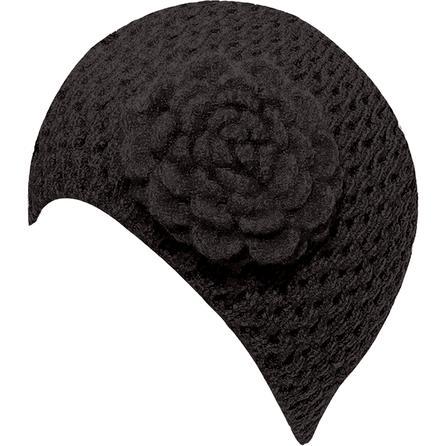 Elan Blanc Flower Cloche Hat (Women's) -