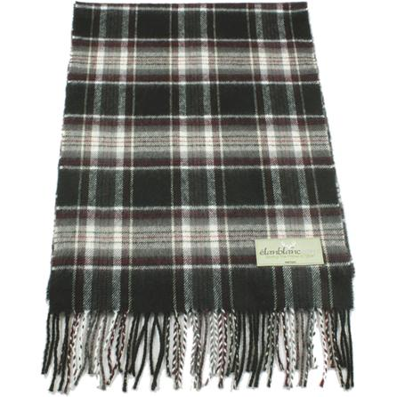Elan Blanc Candy Plaid Scarf (Adults') -
