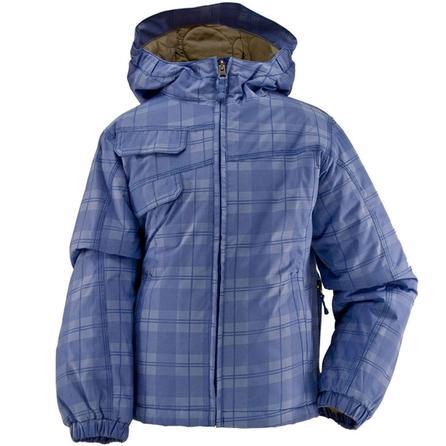 White Sierra Lockdown Plaid Ski Jacket (Girls') -