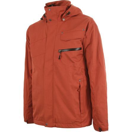 White Sierra Header 3-in-1 Ski Jacket (Men's) -