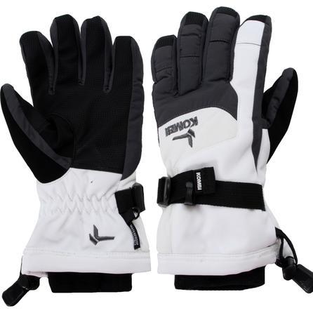 Kombi Storm Cuff II Softshell Glove (Kids') - White/Gunmetal