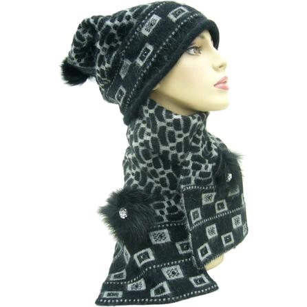 Mitchie's Matchings Hat and Scarf Set (Women's) -