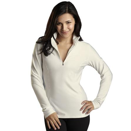 Snow Angel Doeskin Zip Baselayer Top (Women's) -