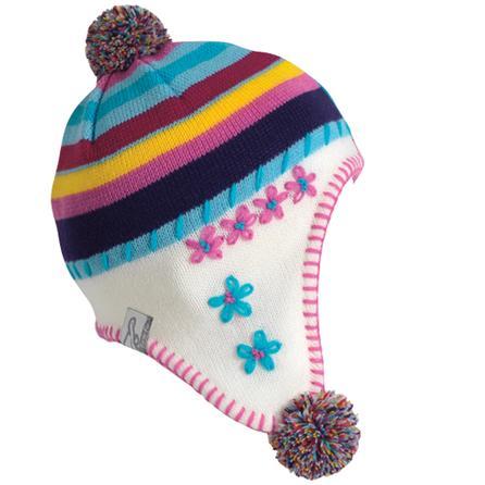 Turtle Fur Crazy Quilt Hat (Toddler Girls') -