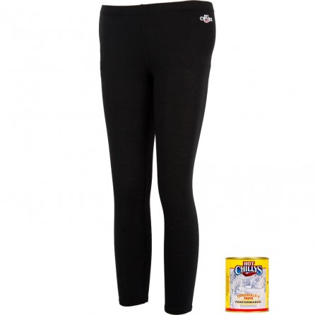 Hot Chillys MTF Original Midweight Baselayer Bottoms (Kids') - Black