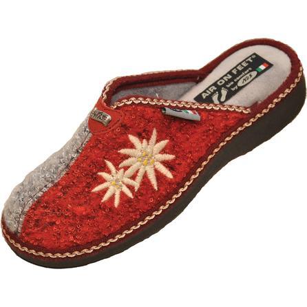 Regina Boiled Wool Stitched Slipper (Women's) -