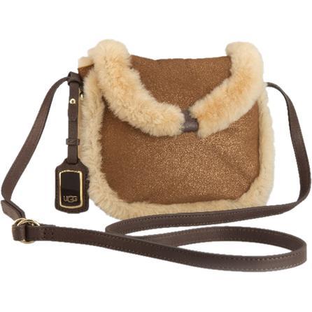 UGG Metallic Shearling Mini Crossbody Bag (Women's) -