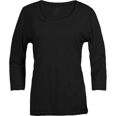 White Sierra Taroko 3/4 Sleeve Top (Women's) -