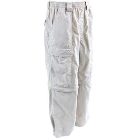White Sierra Trail Convertible Pant (Kids') -