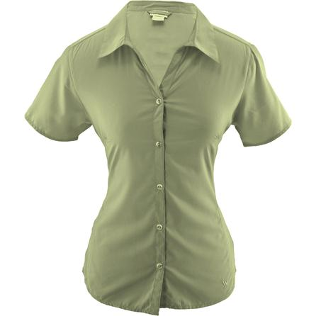 White Sierra Gobi Desert Short Sleeve Shirt (Women's) -
