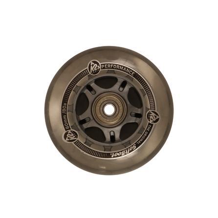 K2 80mm Inline Skate Wheel and Bearing 8-Pack Kit -