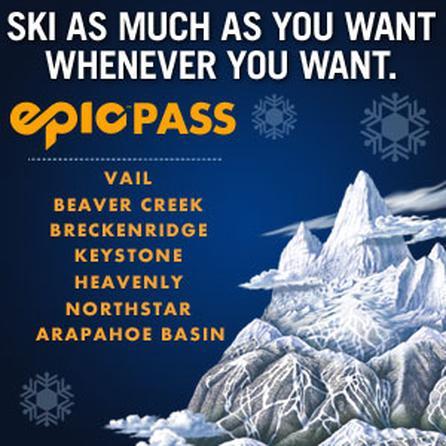 Vail Resorts Epic Ski Pass - 2011/12 -