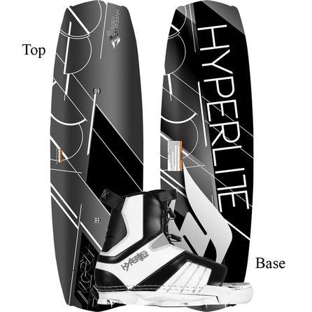 Hyperlite 129 Forefront Wakeboard Package with 4-8.5 Remix Boots (Kids') -