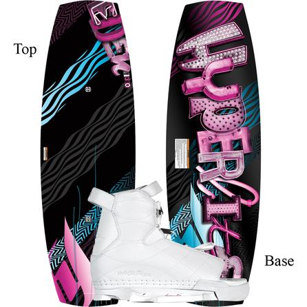 Hyperlite 130 Eden Wakeboard Package with 4-8.5 Jinx Boots (Women's) -