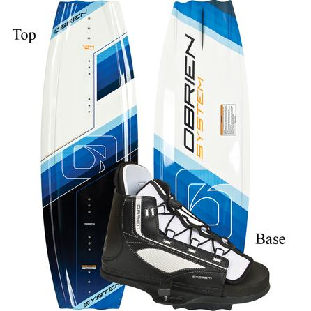 O'Brien 124 System Wakeboard Package with Junior System Bindings (Kids') -