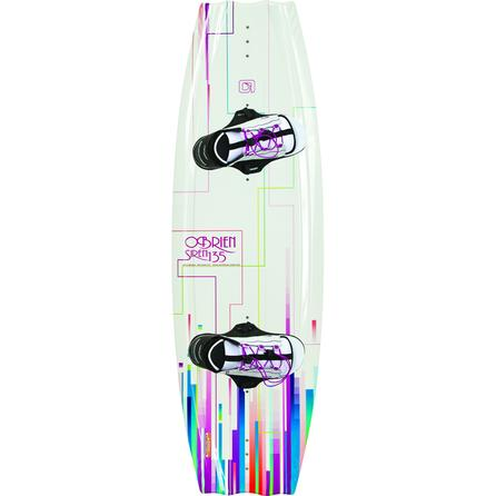 O'Brien 135 Siren Wakeboard Package with Siren Boots (Women's) -