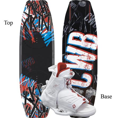 CWB 134 Kink Wakeboard Package with S/M Torq Boots (Men's) -