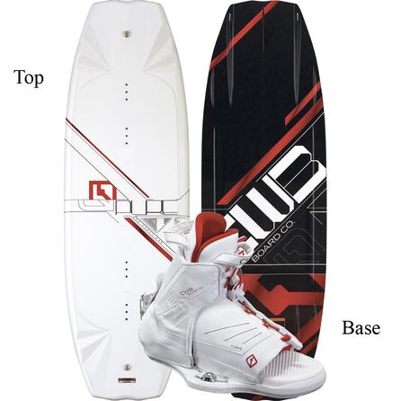 CWB Pure 141 Wakeboard Package with L/XL Torq Boots (Men's) -