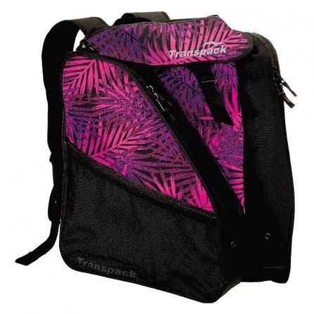 Transpack XTW Boot Bag (Women's) - Pink/Purple/Black Palm
