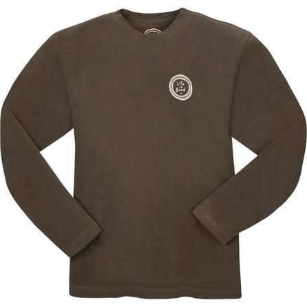 Life is Good Creamy Ski Club Long-Sleeve T-Shirt (Men's) -