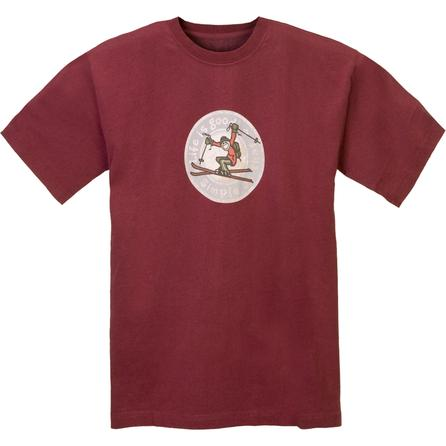 Life is Good Creamy Heritage Ski T-Shirt (Men's) -