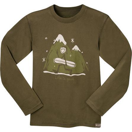 Life Is Good Organic Snowboard Long-Sleeve T-Shirt (Boys') -
