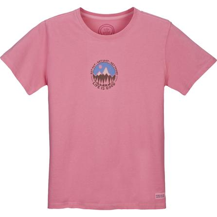Life is Good Crusher Get Found Tee (Women's) -