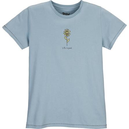 Life is Good Organic Solo Floral Tee (Women's) -