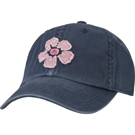 Life is Good Tattered Hibiscus Chill Cap (Women's) -