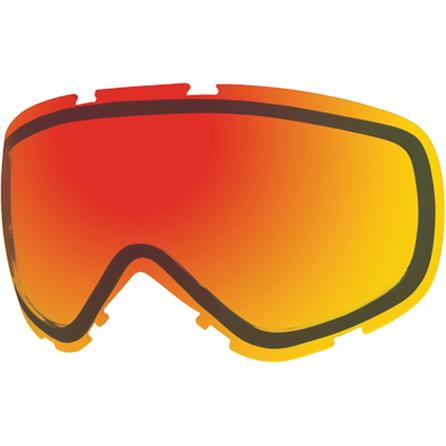 Smith Red Solex Phenom/Phase Goggle Replacement Lens -