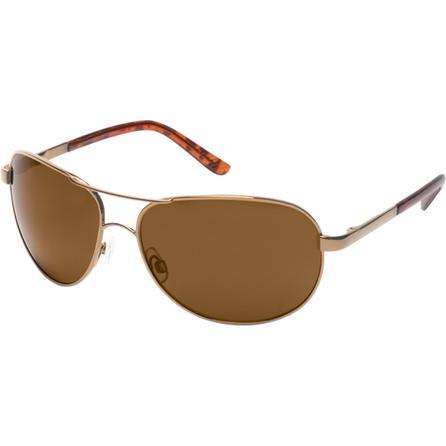 Suncloud Aviator Polarized Sunglasses  - Gold