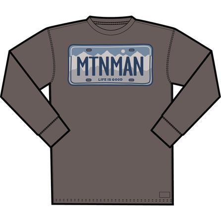Life is Good Mountain Man Shirt (Men's) -