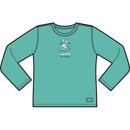 Life is Good Ski Bunny Shirt (Girls') -