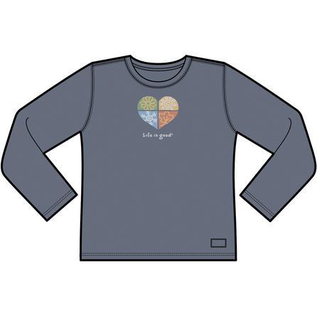 Life is Good Heart Four Seasons Shirt (Women's) -