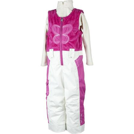 Obermeyer Love Fleece Ski Bib (Toddler Girls') -