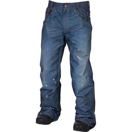 686 LTD Destructed Denim Insulated Snowboard Pant (Men's) -